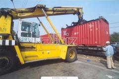 Складирование и хранение грузов в простых