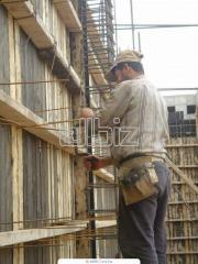 Строительные и монтажно-строительные работы